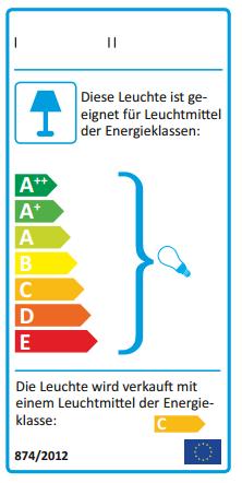 Eu energielabel etikettendrucker und aufkleberproduktion for Lampen und leuchten eu