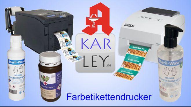 Etiketten f Etikettendrucker Chargen Klebeetiketten 5 Rollen x 700 Etiketten